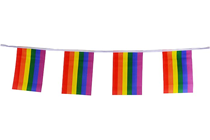 Gay Pride Rainbow Bunting - 20m
