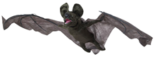 Animated Giant Bat with Light & Soun