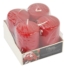 Winter Berry Scented Candles - Pk.4