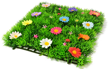 Luxury Grass Mat Square with Multi-Colou