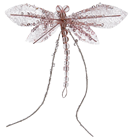 Decorative Pink Dragonfly - 13cm