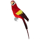 Red Tropical Parrot - 34cm