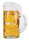 Beer Glass Decoration - 75 x 50cm