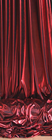 Avenue Shiny Fabric - Red