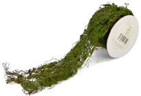 Decorative Artificial Moss Roll with Gli