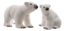 Large Polar Bears - Set of 2