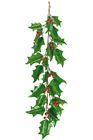 Giant Holly Leaf and Berry Garland -%2