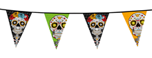 Day of the Dead Sugar Skull Bunting